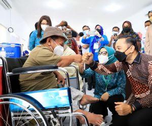 Pemkot Surabaya bersama TP PKK Gelar Gebyar Vaksin Disabilitas