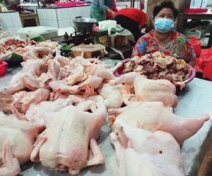 H+2 Lebaran, Harga Daging Ayam di Kota Madium Naik