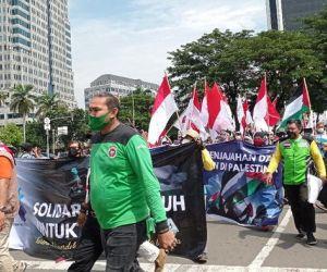 Polda Metro Jaya Kerahkan Pasukan Gabungan Amankan Aksi Solidaritas Palestina
