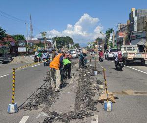 Pendestrian HOS Cokroaminoto Ponorogo Dituding Lampaui 99 Hari Kerja Bupati Sugiri
