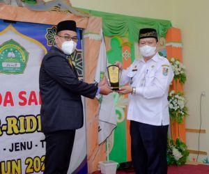 TPQ Ar Ridlwan Suwalan Raih Penghargaan dari Camat Jenu