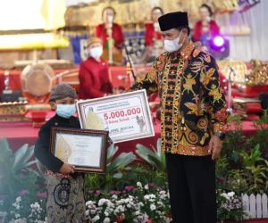 Walikota Madiun Apresiasi Pagelaran Parade Dalang Bocah se-Jawa Timur