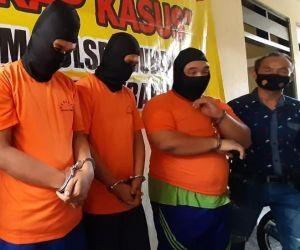 Perkosa Terapis, Tiga Pemuda Ditangkap Polisi