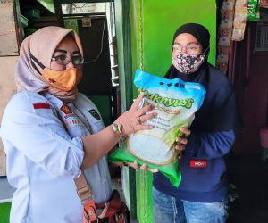 Dewan Gerindra Kota Madiun Sumbang Sembako pada Warga Isoman dan Terdampak Pandemi