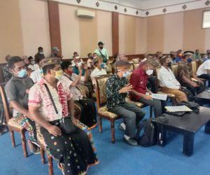 DPRD Manggarai Barat Rapat Dengar Pendapat dengan Pemilik Lahan Kawasan Bowo Sie