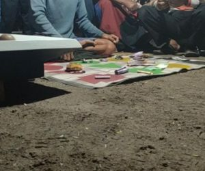 Ada Aktivitas Judi Cap Jiki, di Pasar Tulangan Sementara, Sidoarjo