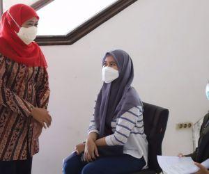 Persiapan PTM, 500 Mahasiswa Untag Surabaya Siap Divaksin