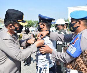 Cegah Penyebaran Covid-19, Polisi Sidoarjo Gelar Operasi Patuh Semeru