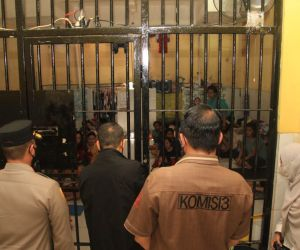 143 Tahanan Polrestabes Surabaya Divaksin