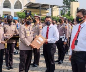 Kapolresta Sidoarjo Apresiasi Personel dan Sipil, Saksi Pengeroyokan Anggota TNI