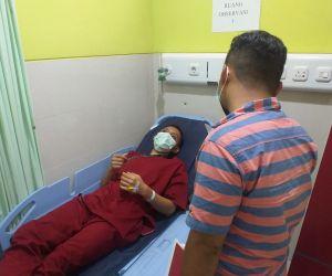 Diduga Gegara Infus Anaknya Lepas, Orang Tua Pukul Perawat RS Anwar Medika