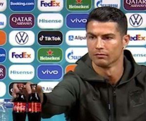 Total, Coca Cola Merugi Rp 57 Triliun Gara-Gara Ronaldo Pindahkan Botol