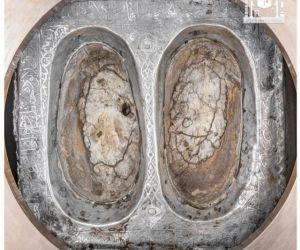 Saudi Rilis Foto Batu Pijakan Nabi Ibrahim, Begini Penampakannya