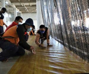 Fasilitas RS Lapangan Tembak Mulai Dilengkapi, Bed Bantuan Mensos Mulai Dipasang